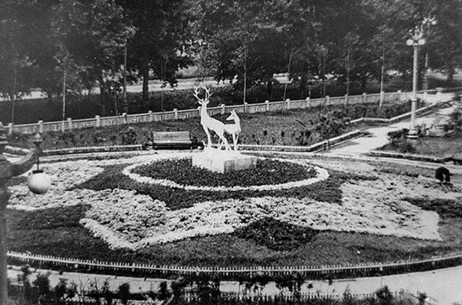 Скульптура «Олени» Новокузнецк
