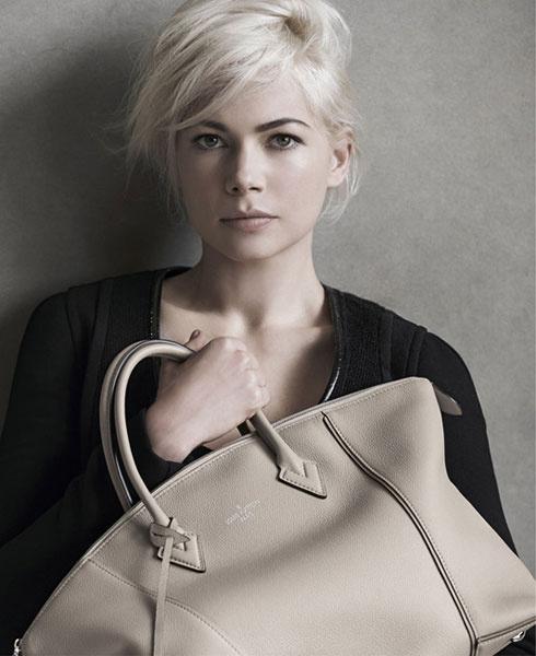 Мишель Уильямс в рекламной кампании Louis Vuitton осень-зима 2014