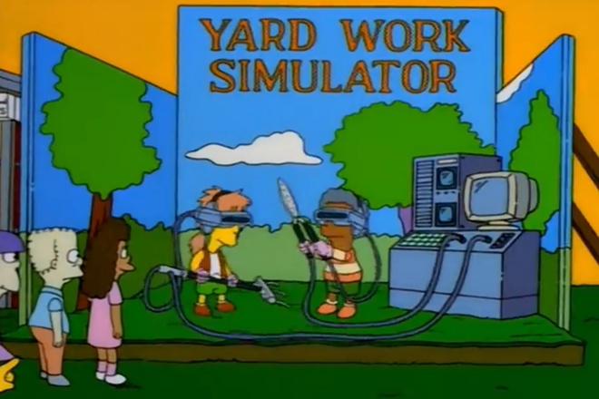 Кадр из «Симпсонов»