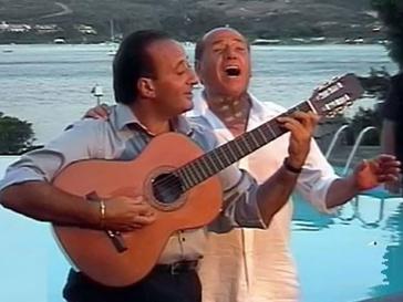 Сильвио Берлускони и Мариано Апичелла