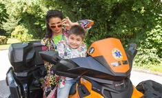 Анна Нетребко отметила день рождения сына в Краснодаре