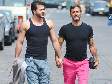 Марк Джейкобс (Marc Jacobs) с возлюбленным.