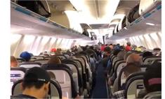 идеальный выход канадских пассажиров самолета видео ставшее вирусным