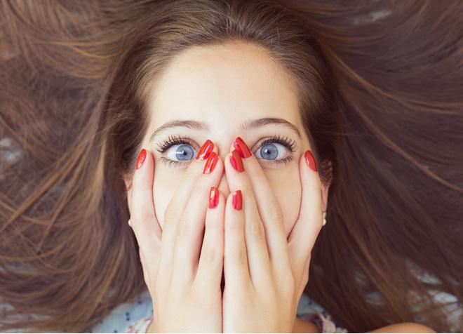 цвет волос для голубоглазых