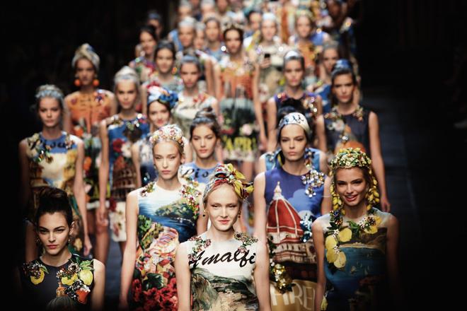 Dolce and Gabbana весна-лето 2016