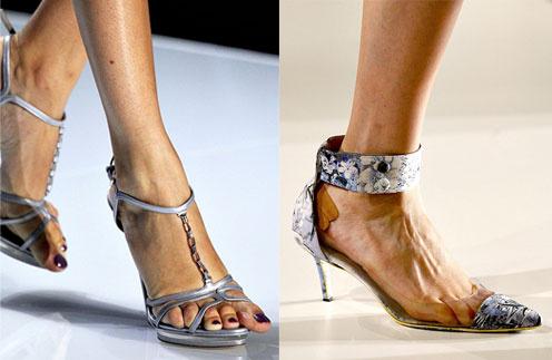 Модели на показе Dior мучались в обуви меньшего размера, а на показе Erdem дополнением к красивой паре туфель стал пластырь