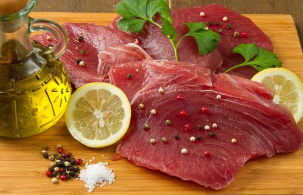Как готовить сырого тунца