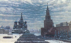 В Москве прошел торжественный марш в честь парада 1941 года