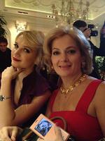 Мария с дочкой Полиной от брака с Гошей Куценко