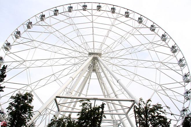 Новое колесо обозрения в Ростове-на-Дону: фото