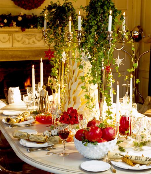 Изысканный новогодний стол