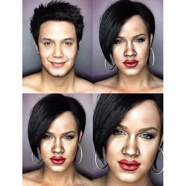 Филиппинский визажист перевоплотился в звезд с помощью макияжа   галерея [1] фото [6]