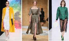 Тренд MBFW 2016: дизайнерская пижама под шубу