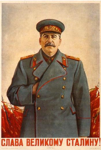 Сталин не разбирался в живописи. Он мог, например, увидеть заурядную яркую картинку в журнале «Огонек» и предложить академикам дать ей Сталинскую премию.