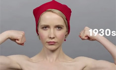 Видео об эволюции русской красоты стало хитом