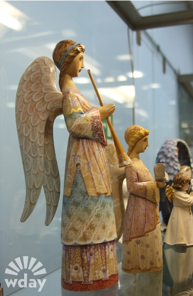 С этих ангелов началась коллекция