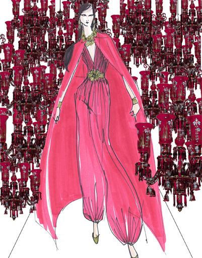 Платье Escada для Жасмин