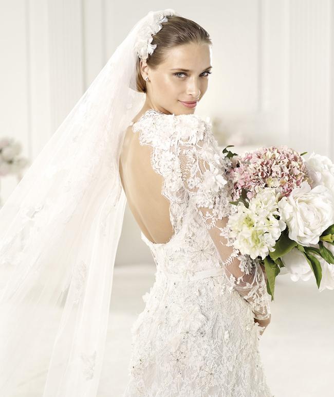 Модные свадебные платья для осени 2013