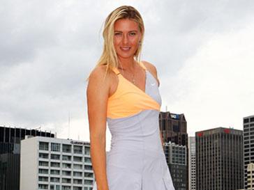 Контракт с Nike обязывает Марию Шарапову без устали рекламировать бренд