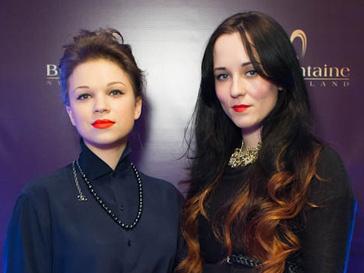 Людмила Камнева и Татьяна Соловьева