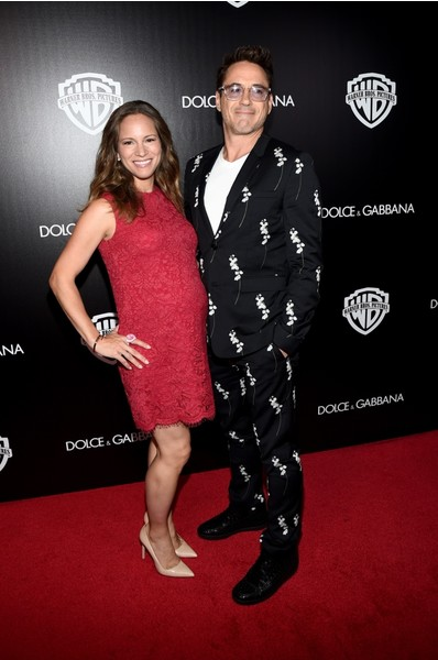 Роберт Дауни младший с женой Сьюзан