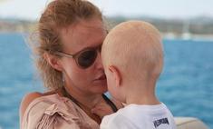Ксения Собчак рассказала, почему назвала сына Платоном