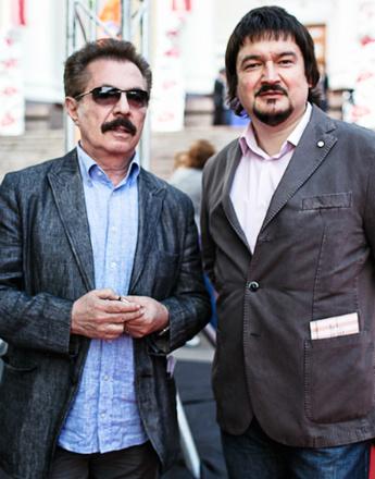 Борис Берман и Эльдар Жиндарев