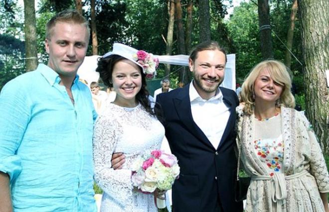 Наталья Медведева и Александр Коптель