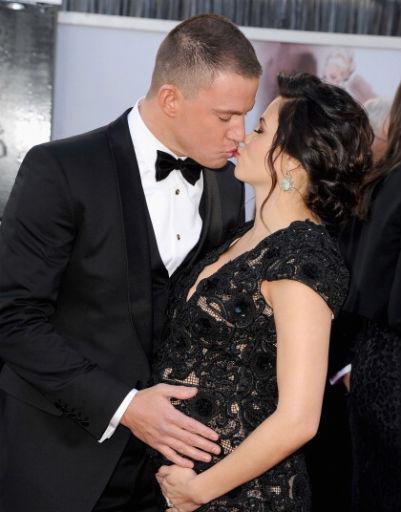 Ченнинг Татум (Channing Tatum) с женой Дженной