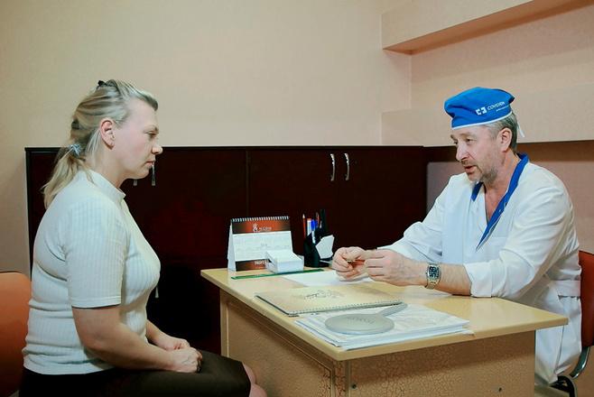 "Клиника ""Ассоль"", прием флеболога"