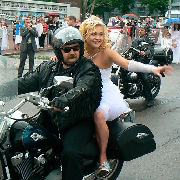 рокерская свадьба