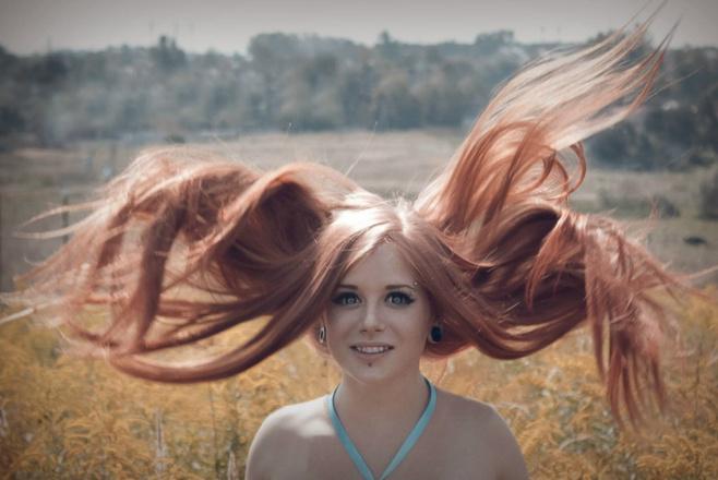 Длинноволосые девушки Тулы, фото, Юлиана Ральф