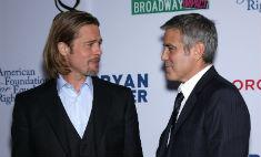 Питт и Клуни разругались в пух и прах