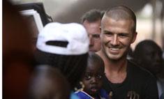 Бекхэм станет лицом акции по борьбе с Эболой