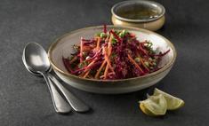 Как приготовить салат из соленого папоротника