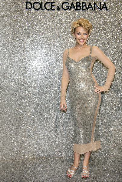 Шикарная женщина Кайли Миноуг в шикарном платье от Dolce & Gabbana