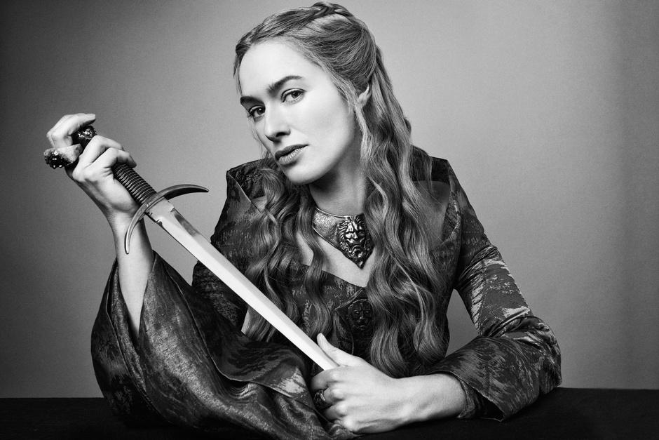 Лина Хиди в образе Серсеи Ланнистер Игра престолов