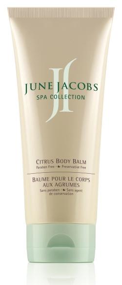 Цитрусовый бальзам для тела June Jacobs