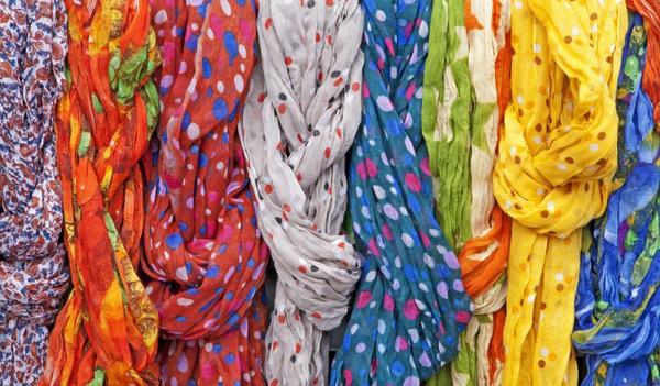 Ситцевой платок