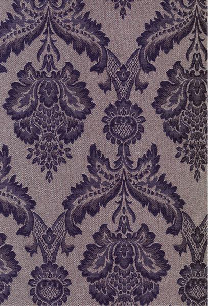 Если полотно образовано нитями, выклеенными на основе, то рисунок печатается или вышивается. Обои из коллекции Classic (Arlin)