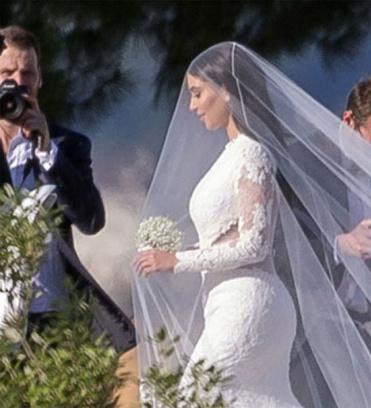 Ким Кардашьян и Канье Уэст: фото, свадьба
