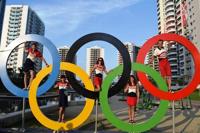 Сборная России по триатлону в Рио-де-Жанейро