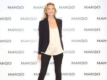 Кейт Мосс не только приняла участие в рекламной фотосессии, но и снялась в рекламном ролике для Mango
