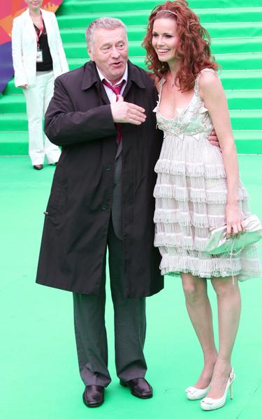 Владимир Жириновский и Наталья Лесниковская