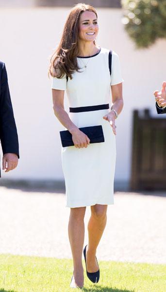 Кейт Миддлтон в платье Jaeger (150 фунтов)