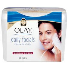 Очищающие влажные салфетки для лица Olay. Легко удаляют загрязнения, освежают и увлажняют кожу лица.