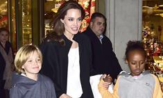 Джоли разрешила своим детям сделать татуировки