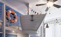Креативная детская: комната-корабль, спальня феи и другие идеи
