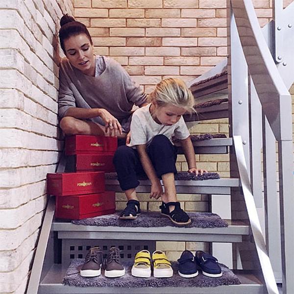 Ирена Понарошку с сыном, фото