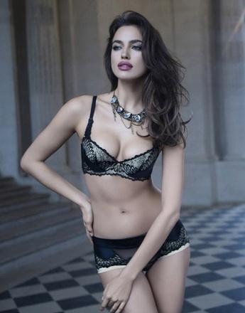 Ирина Шейк (Irina Shayk) в фотосессии La Clover ко Дню святого Валентина 2013